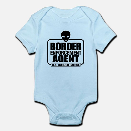 Border Enforcement Agent Infant Bodysuit