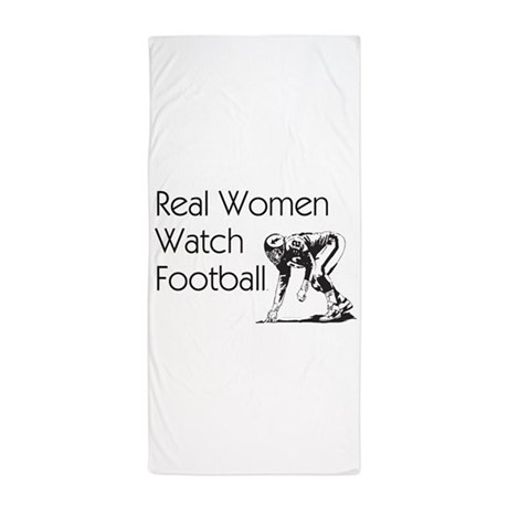 Football Fan Beach Towel