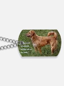 rainbow bridge card Dog Tags