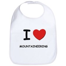 I love mountaineering  Bib