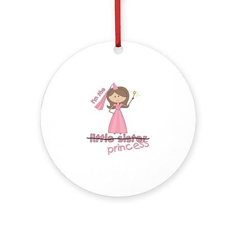 i'm the princess little Ornament (Round)