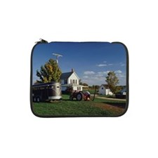 """Tractor and car for carrying hor 13"""" Laptop Sleeve"""