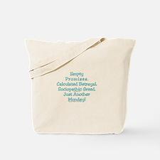 Empty Promises. Tote Bag