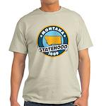 Montana Statehood Light T-Shirt