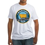 Montana Statehood Fitted T-Shirt