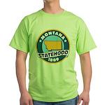 Montana Statehood Green T-Shirt