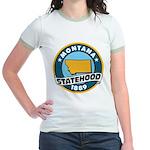 Montana Statehood Jr. Ringer T-Shirt