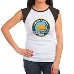 Montana Statehood Women's Cap Sleeve T-Shirt