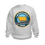 Montana Statehood Kids Sweatshirt
