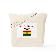 #1 Bolivian Mom Tote Bag