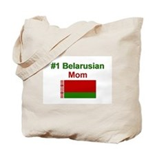 #1 Belarusian Mom Tote Bag