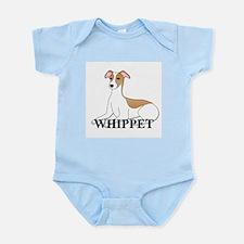 Cartoon Whippet Infant Bodysuit