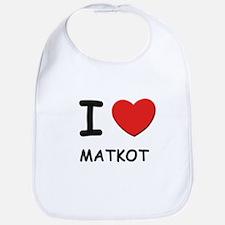 I love matkot  Bib