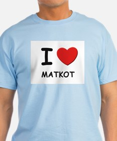 I love matkot T-Shirt