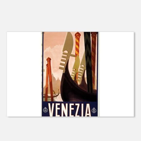 venezia - anonymous - circa 1920 - poster Postcard