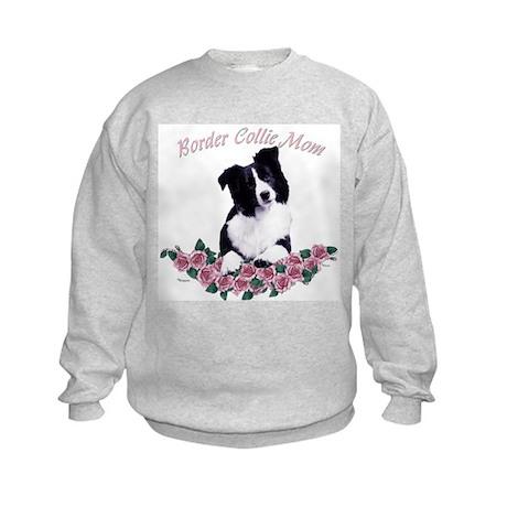 border collie mom Kids Sweatshirt