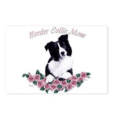 border collie mom Postcards (Package of 8)