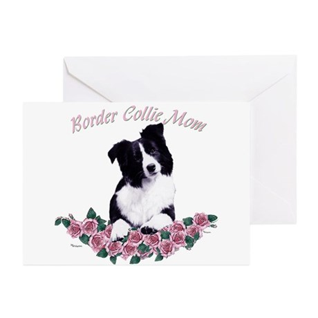 border collie mom Greeting Cards (Pk of 10)