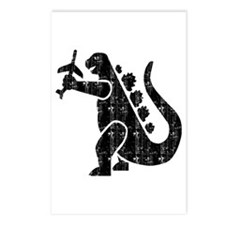 MOVIE MONSTER REPTILE Postcards (Package of 8)