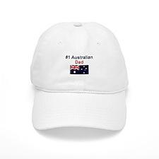 #1 Australian Dad Baseball Cap