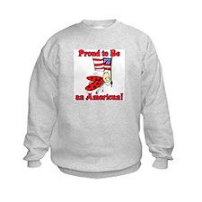 Ladybug Proud to be an American Sweatshirt