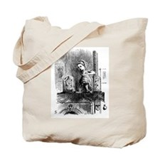 Alice through the Looking Gla Tote Bag