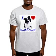 i love border collie T-Shirt