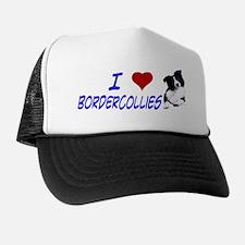 i love border collie Trucker Hat