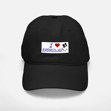 i love border collie Baseball Hat