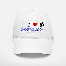 i love border collie Baseball Baseball Cap