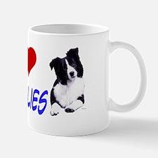 i love border collie Mug