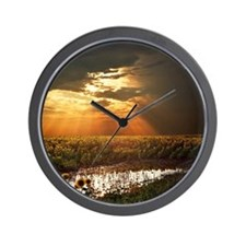 Angel's stairs Wall Clock