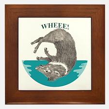 Wheee! Framed Tile