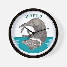 Wheee! Wall Clock
