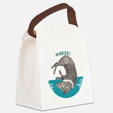 Wheee! Canvas Lunch Bag