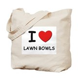 Lawn bowls Canvas Bags