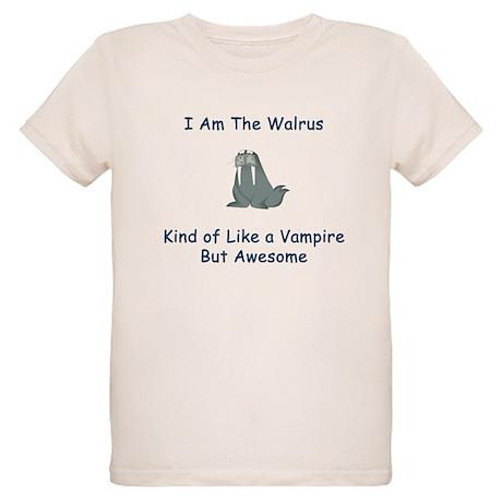 I am the Walrus Organic Kids T-Shirt