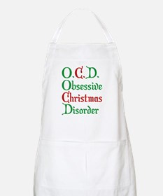 Obsessive Christmas Disorder Apron