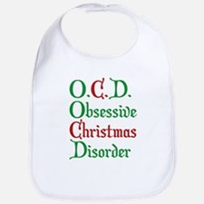 Obsessive Christmas Disorder Bib