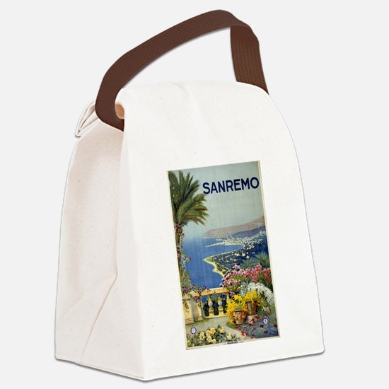 sanremo - anonymous - circa 1920 - poster Canvas L