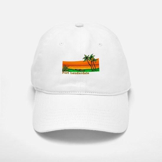 Fort Lauderdale, Florida Baseball Baseball Cap