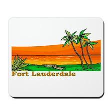 Fort Lauderdale, Florida Mousepad