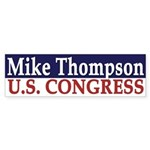 Re-Elect Mike Thompson (bumper sticker)