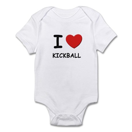 I love kickball Infant Bodysuit
