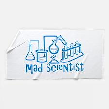 Mad Scientist Beach Towel