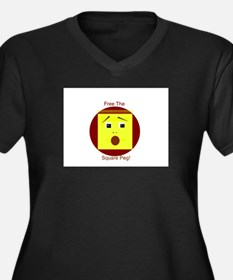 Free the Square Peg Plus Size T-Shirt