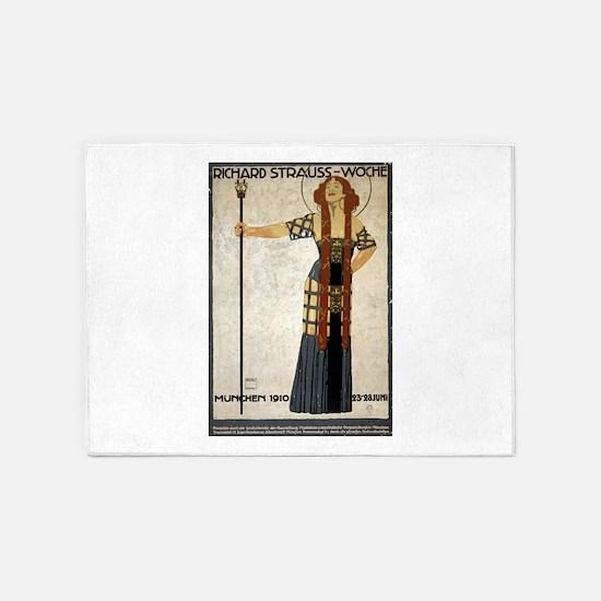 richard strauss-woche - ludwig hohlwein - 1910 - p