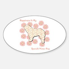 SWD Happiness Oval Decal