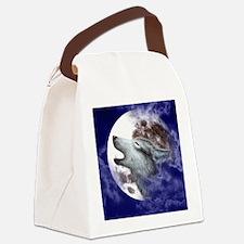 iPad 3 Folio_Moon Wolf Canvas Lunch Bag
