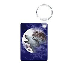 iPad 3 Folio_Moon Wolf Aluminum Photo Keychain